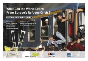 What can the World learn from Europe's Refugee Crisis